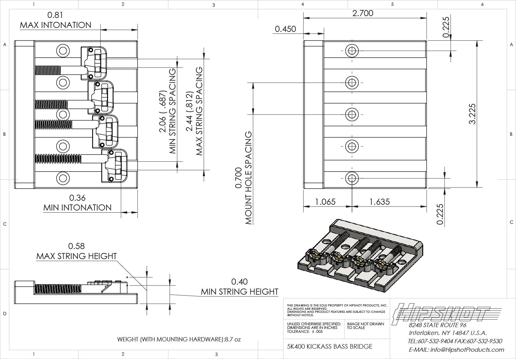 KickAss 5k400図面