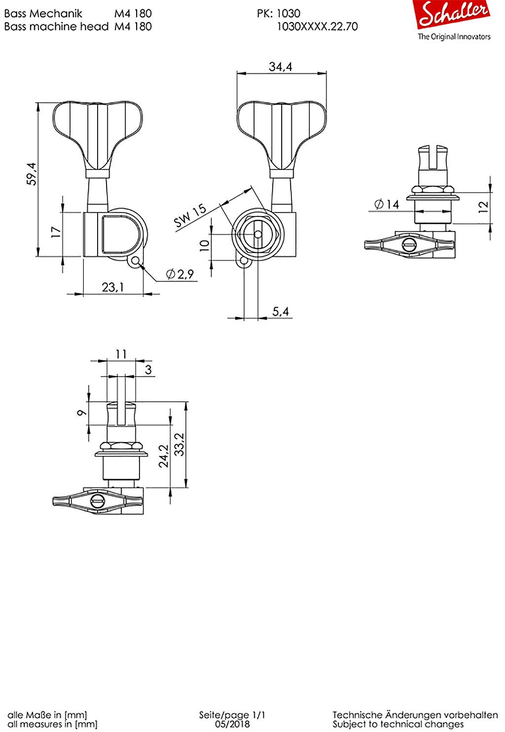 M4-180-Light図面