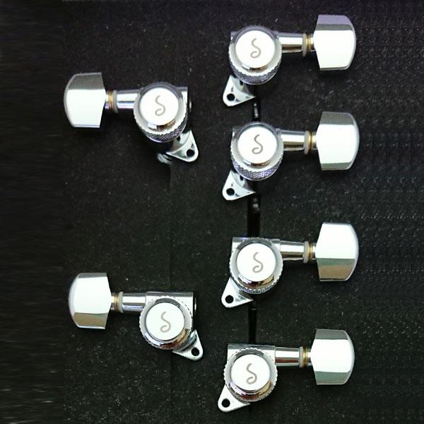 M6 135 Locking CH Small Button (4L2R)